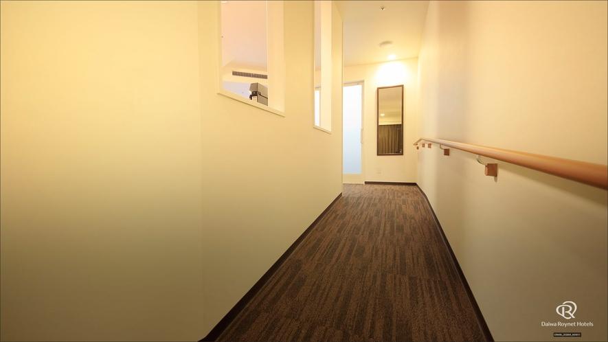 ユニバーサルルーム 入口のスロープ
