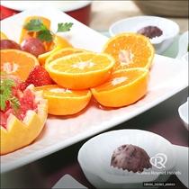朝食 【Resort】朝に嬉しい季節の果物