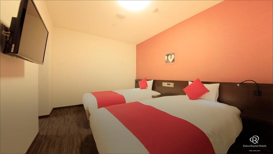 ジュニアスイートルーム ベッドルーム