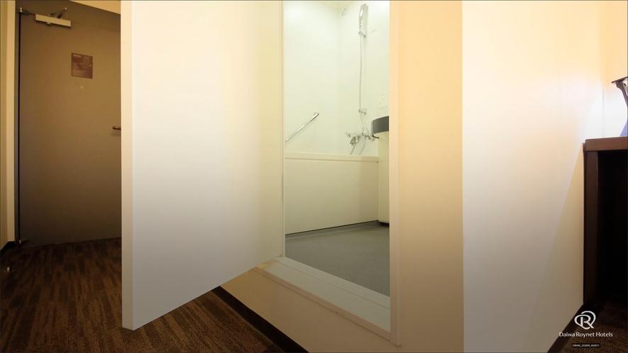 バスルーム入り口
