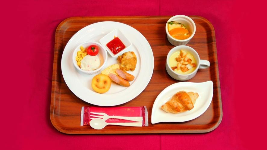 【朝食】お子様プレート