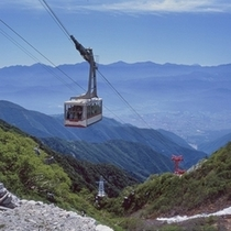 中央アルプス駒ヶ岳ロープウェイ