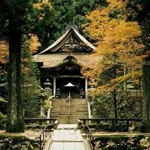 光前寺の本堂