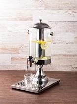 ◆コーヒーが苦手なお客様にはさっぱりとして飲みやすいレモンウォーターをご用意しております◆