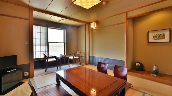 八ヶ岳一望8畳和室 テーブルと椅子の3点セット付き(禁煙室)