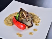 ディナー魚料理一例