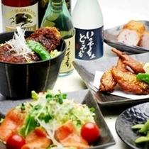 1階夕食レストラン『花々亭』は18:00〜22:00(ラストオーダー21:30)