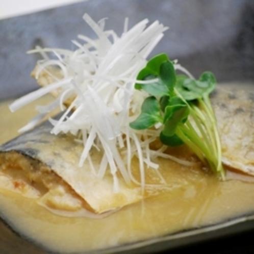 花々亭メニュー『鯖味噌煮』