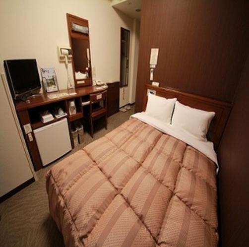 当ホテルでは、セミダブルルームもご用意しております♪