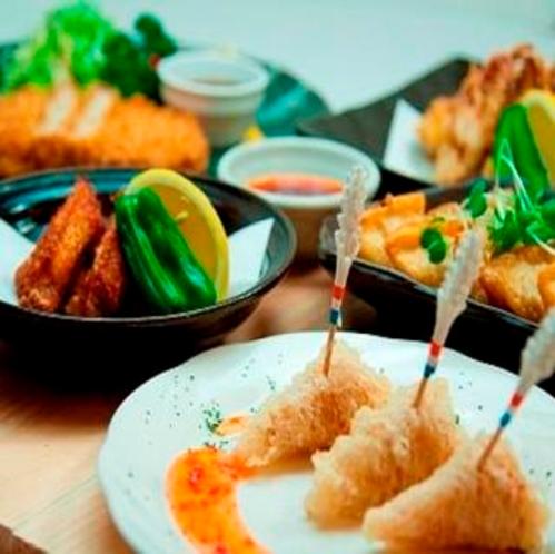 1階夕食レストラン『花々亭』営業時間18:00〜22:00