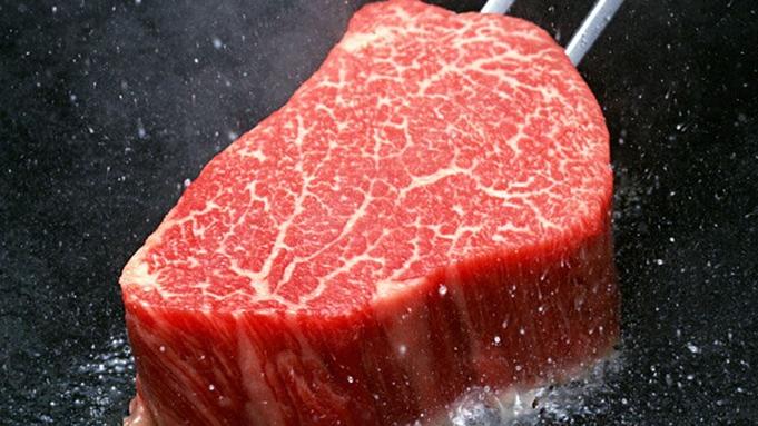【あか牛堪能♪】阿蘇名産『あか牛』ステーキをフルコース料理と共に…♪温泉チケット付き2食プラン