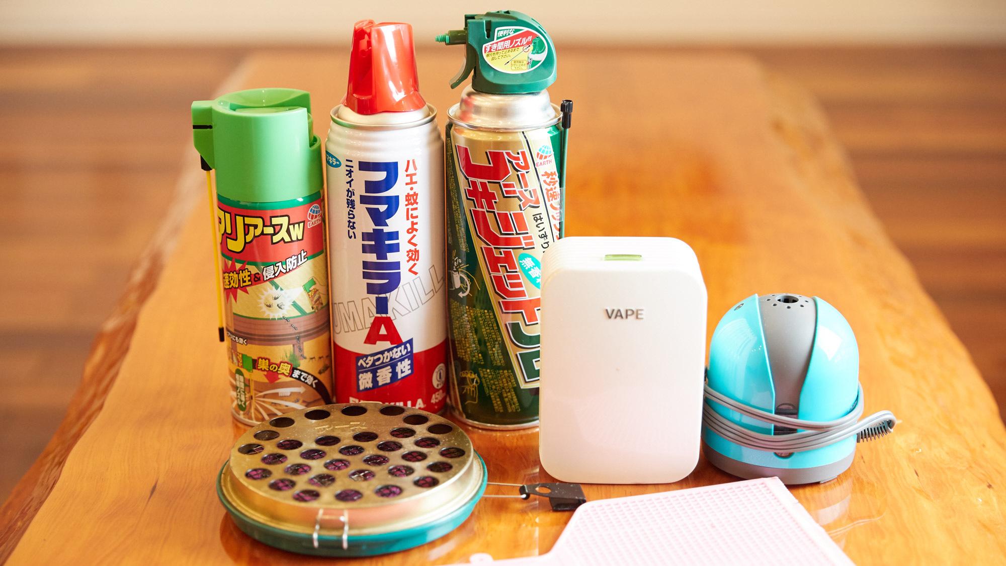【客室備品】虫対策用品一式