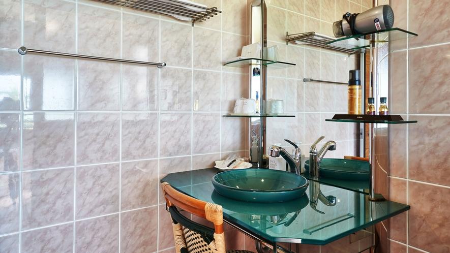 【サンルームコテージ】洗面台