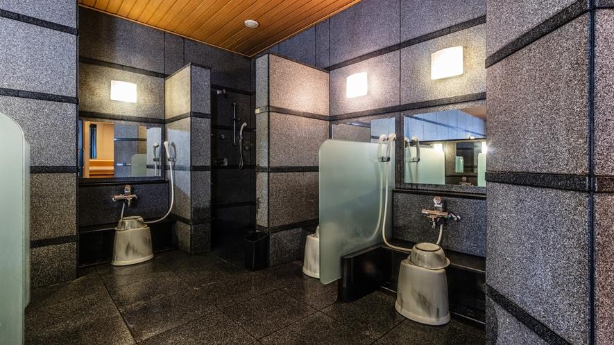 男性大浴場(洗い場)