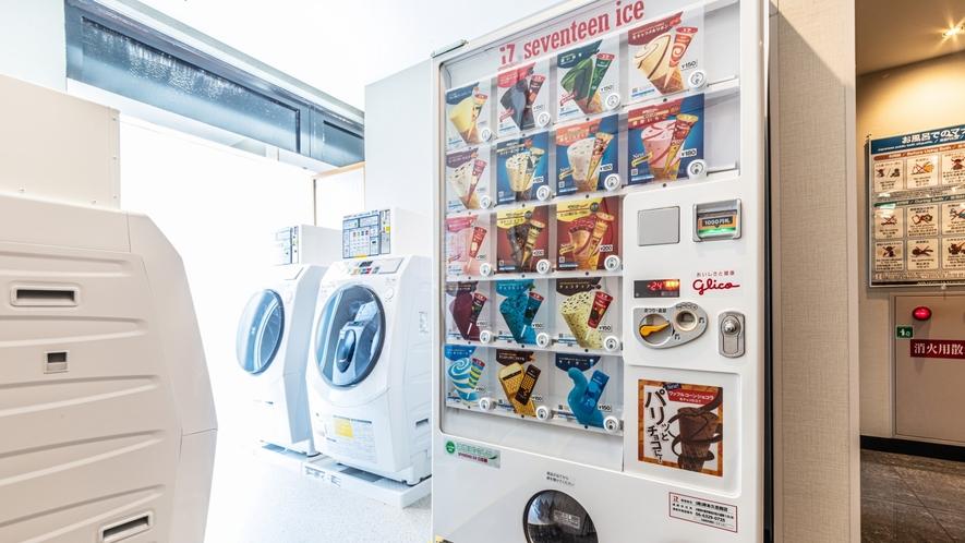 セブンティーンアイス自動販売機