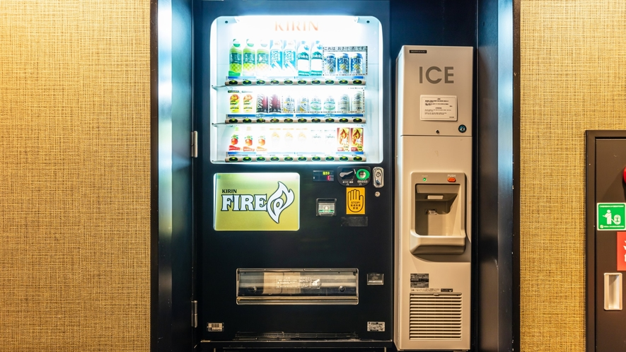 客室フロア(自動販売機・製氷機)