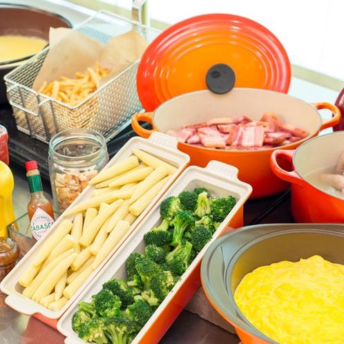 朝食ブッフェ/洋食コーナー