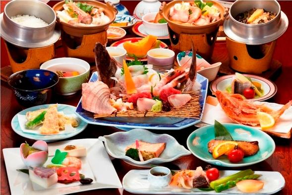 【温泉と夕食を2倍楽しむ】前浜海の幸 夫婦膳プラン