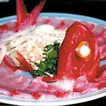 南伊豆沖で獲れた 金目鯛のしゃぶしゃぶ