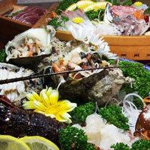 南伊豆子浦 海鮮三昧プラン 豪快な地魚、伊勢海老・鮑 もちろん全て天然もの