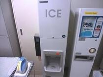 6F製氷機、洗濯用洗剤販売機