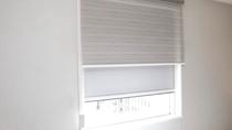【カーテン】客室内、遮光カーテンとレースカーテン