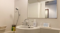 【洗面所】 歯ブラシ、ボディタオルをご用意。