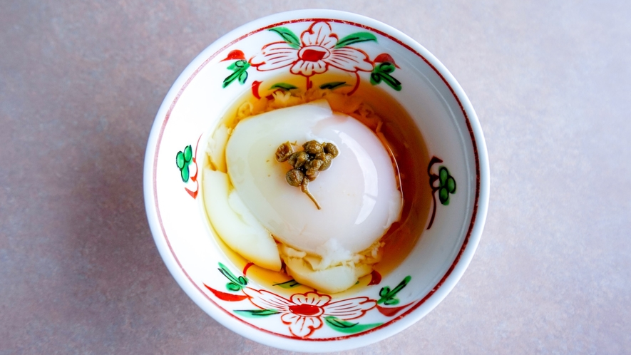 【レストラン】温泉卵◆朝食おかずは日替わり◆