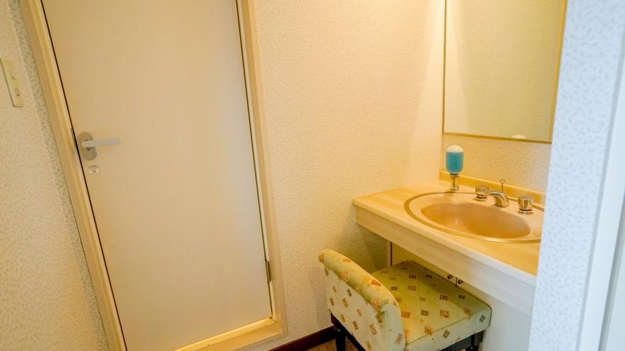 【トリプルルーム】独立洗面台