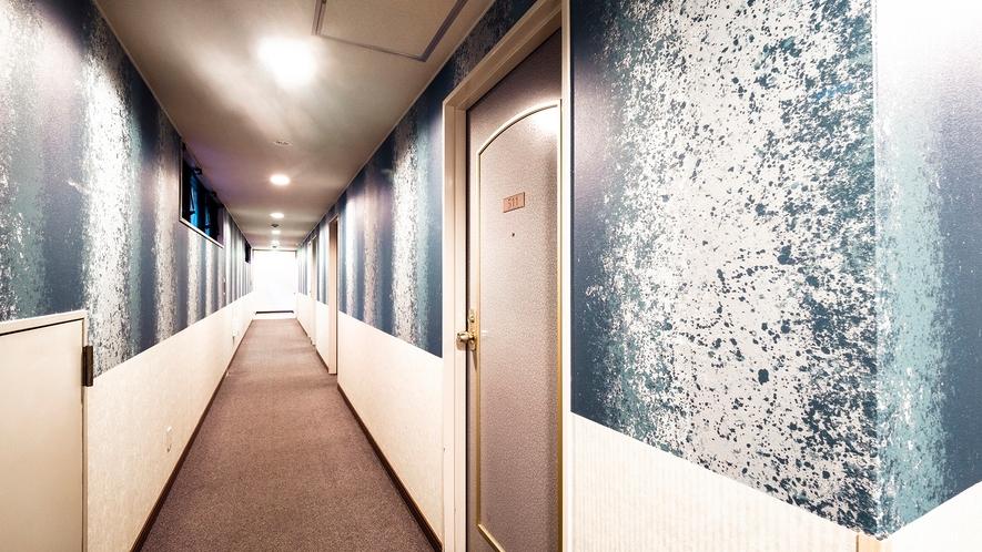 ゲストルーム廊下