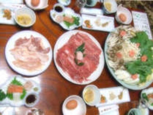 【ご当地食材食べ比べ!】奈良和牛・奈良地鶏すき焼プラン