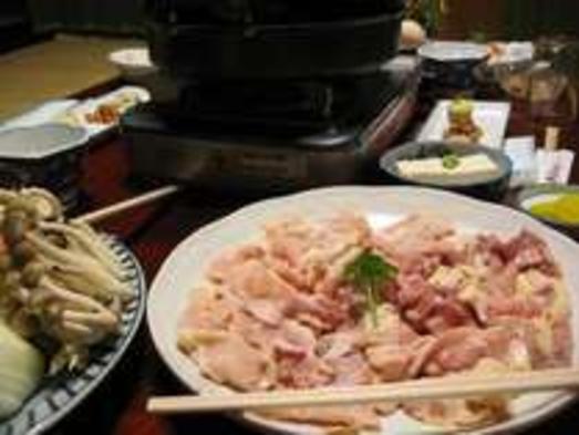 温泉と選べるご当地グルメ鍋♪奈良の地鶏「大和肉鶏鍋」プラン