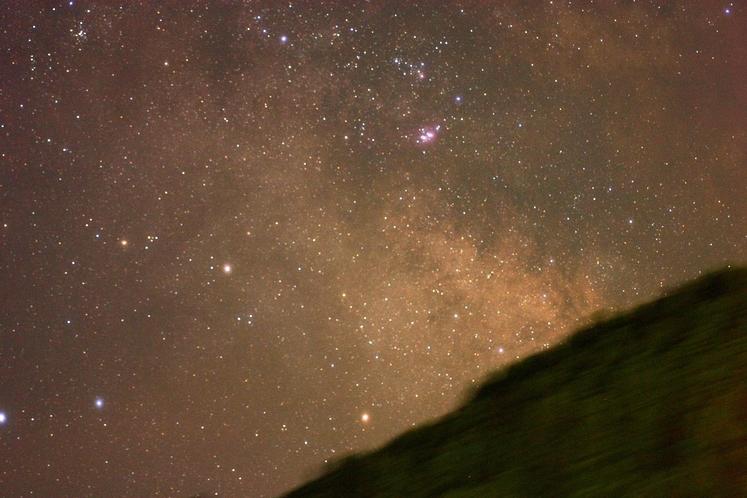 洞川の星空