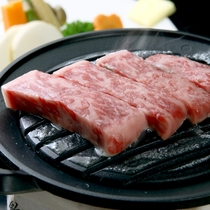 やわらかジューシー♪上州牛ステーキ(野菜添え)