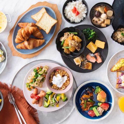 朝食(ビュッフェイメージ)
