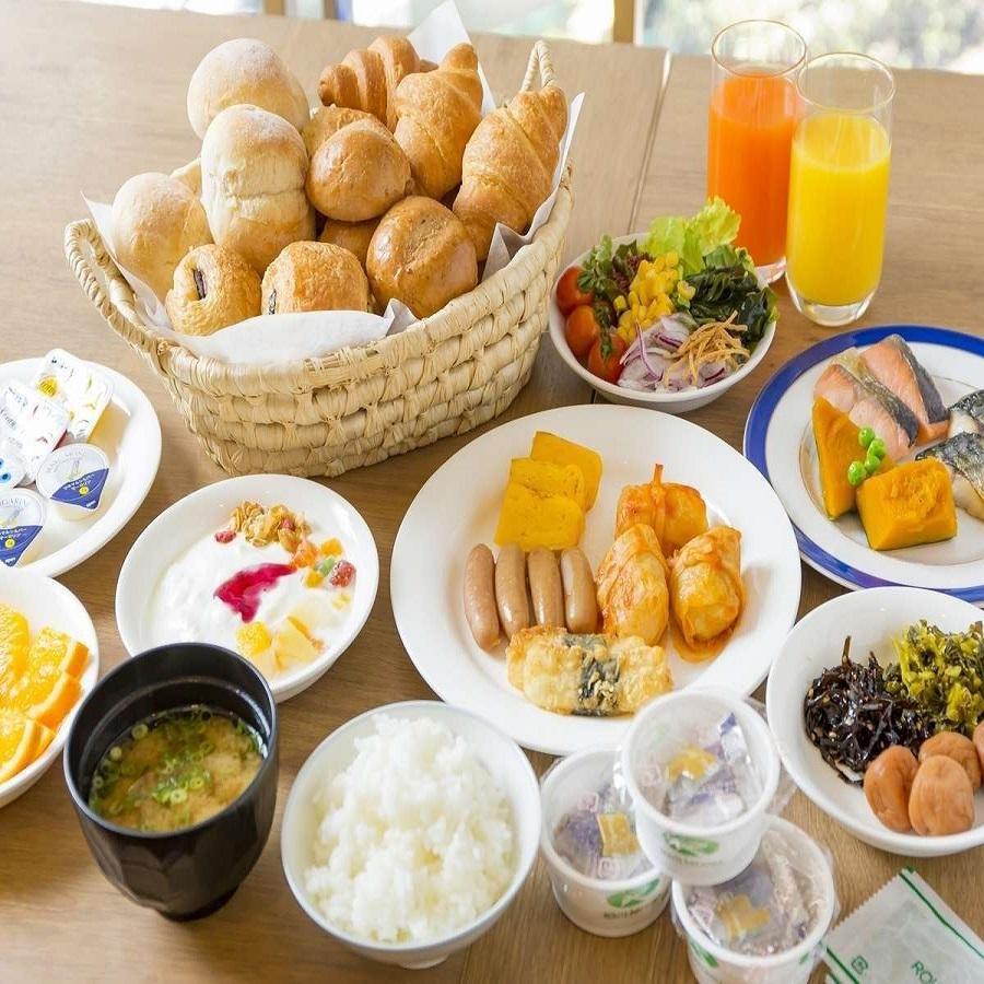 朝食イメージ(健康に配慮したメニューを心がけております♪)