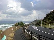 道の駅『キララ多伎』からの「キララビーチライン」は、人気のドライブスポット☆出雲大社までの近道
