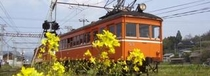 一畑電車『映画:RAILWAYS』JR出雲市駅に電鉄出雲市駅は隣接しています。