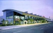 島根の玄関口『出雲空港』です。施設へは、連絡バスで終点のJR出雲駅へ、そしてJR経由でJR小田駅下車