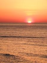 沈みゆく夕陽