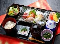 【平日ディナーにて提供】タラソレストラン 刺身御膳
