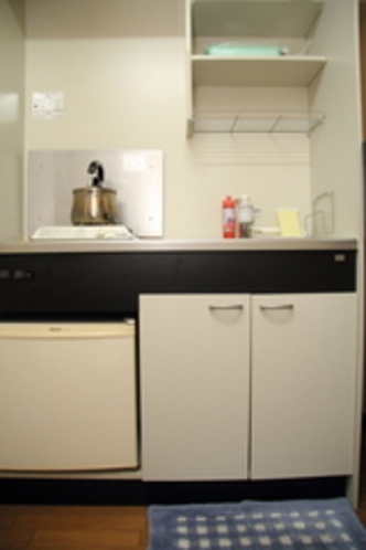 シングルルームキッチン2