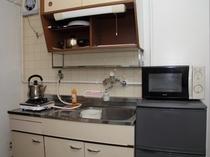 シングルルーム(タイプA)キッチン