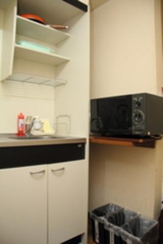 シングルルームキッチン3