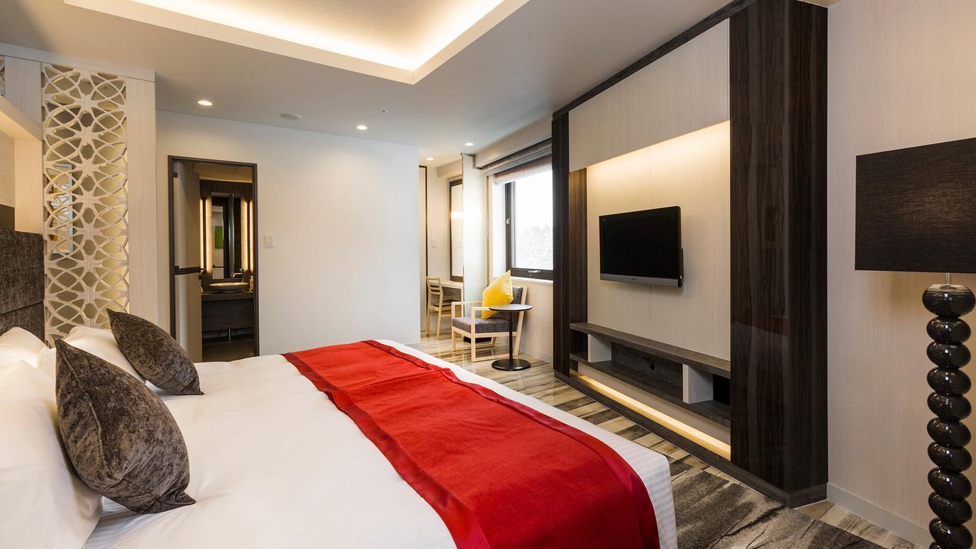 【アンヌプリスイートルーム】94平米/ベッドルームが2つあり広々と使えるスイートルーム