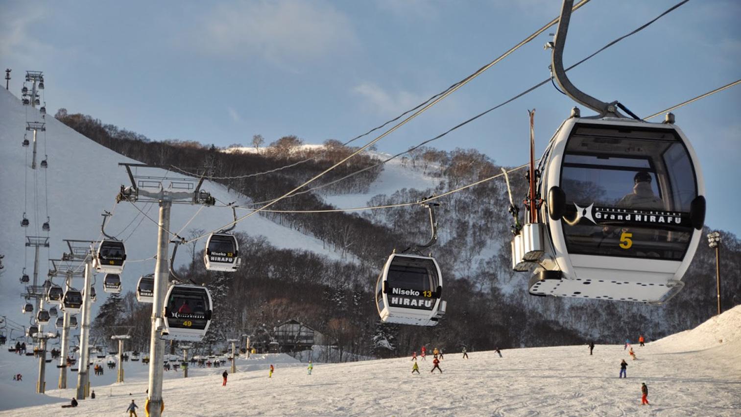 ◆ヒラフスキー場のゴンドラ