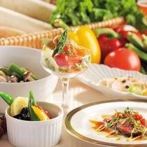 【レストランスラローム】多彩な食材をお召し上がりください