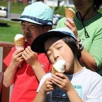 ◆暑い日は冷たいソフトクリームを食べよう★