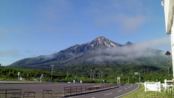 ◆≪生ウニ付≫利尻富士登山やトレッキングの方限定!<夕食+朝昼として「おむすび4つ」付>