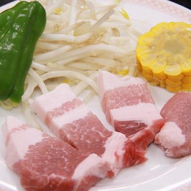 ご夕食は≪つくば味麗豚ポークステーキ》風月(ふうげつ)コース♪